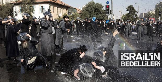İsrail'de askere gitmek istemeyen Yahudiler