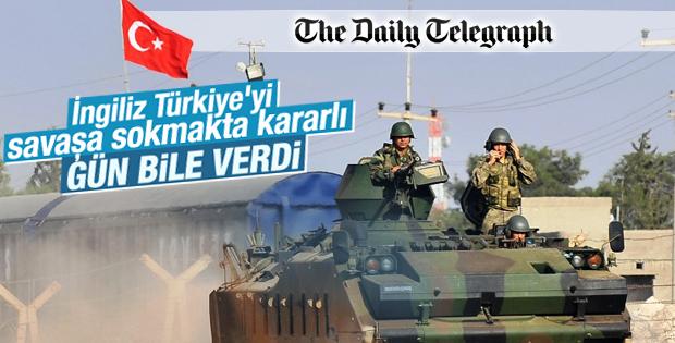İngiliz gazetesi Türkiye Suriye'ye girecek dedi