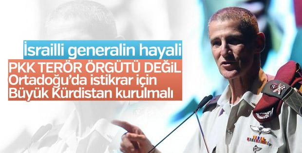 İsrailli general Golan'dan PKK açıklaması