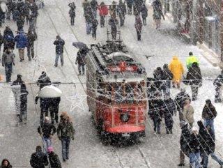İstanbul'da kar yağışı etkisini artıracak