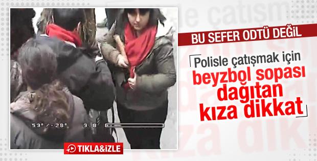 İstanbul Üniversitesi'ndeki kavganın görüntüleri