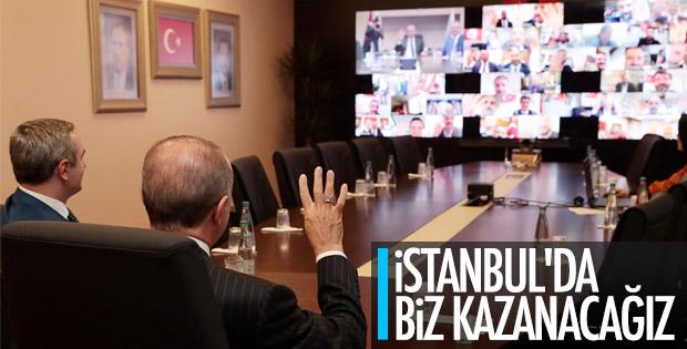 Başkan Erdoğan'dan ilçe başkanlarına İstanbul talimatı
