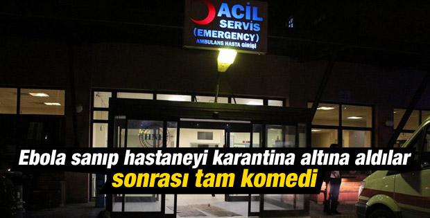 İstanbul'da Ebola şüphelisi alkollü çıktı