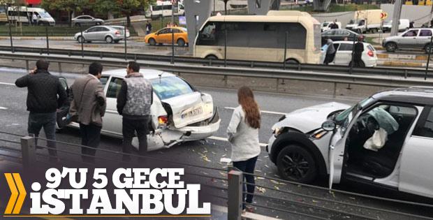 Saygı duruşu yapan sürücüye arkadan gelen araç çarptı
