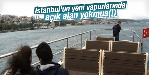 Boğaz'ın yeni gemileri simit atma keyfine engel değil