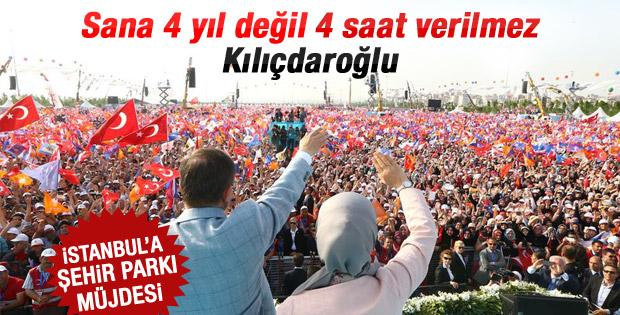 Davutoğlu'ndan Kılıçdaroğlu'na: Sana 4 yıl verilmez