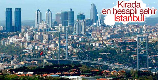 Kirada en hesaplı şehir İstanbul