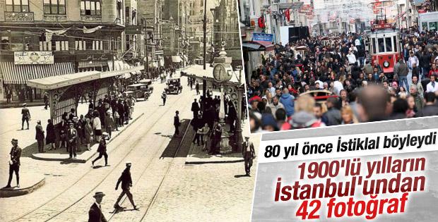 1900'lü yılların İstanbul'undan kareler