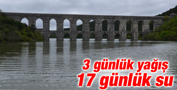 İstanbul'un barajlarında su seviyesi yükseldi