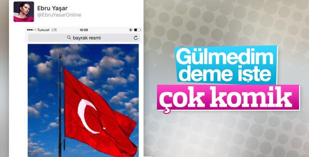 Keşke Ebru Yaşar mizah yaptı diyebilsek