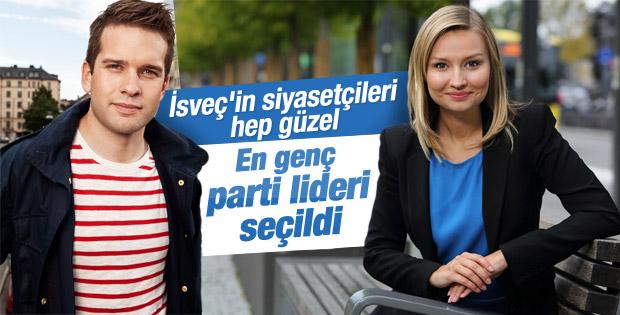 İsveç Hristiyan Demokratlar Partisi'nin yeni kadın lideri
