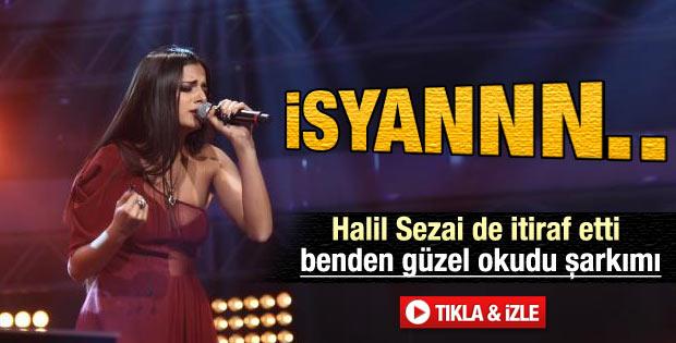 O Ses Türkiye'de Ayda'dan İsyan