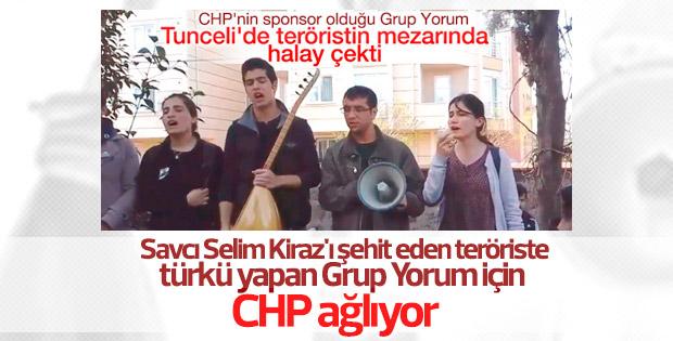 CHP'li vekiller Grup Yorum'a ağlıyor