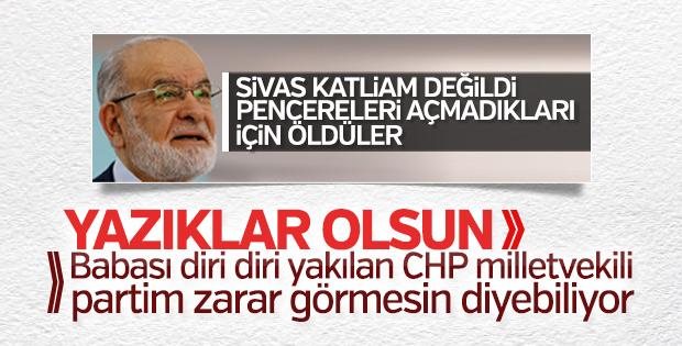 CHP'li Zeynep Altıok Akatlı, Karamollaoğlu'nu eleştirdi