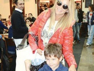 Ivana Sert'ten oğluna 20 bin TL'lik karne hediyesi