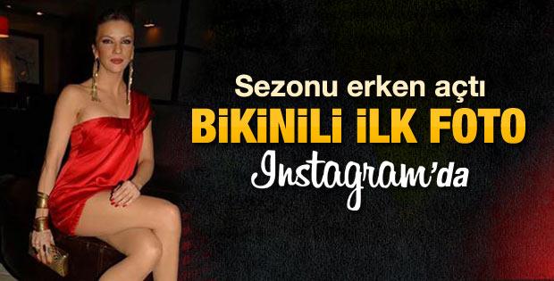 Ivana Sert'in bikinli fotoğraf paylaşması tepki çekti