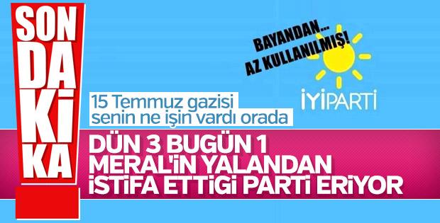 Mehmet Fatih Eryılmaz İyi Parti'den istifa etti