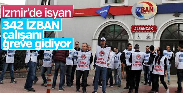 İZBAN'ın 342 çalışanı greve gidiyor