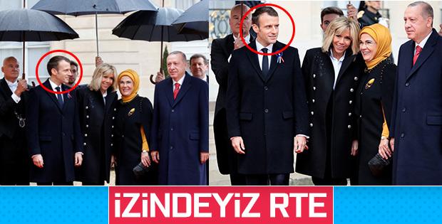 Başkan Erdoğan'a Fransa'da yoğun ilgi
