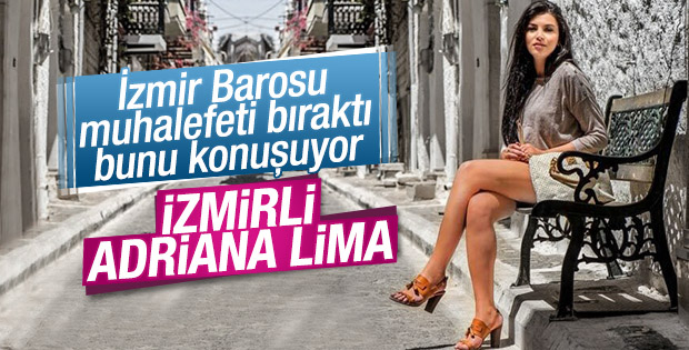 Adriana Lima'ya benzetilen İzmirli avukat