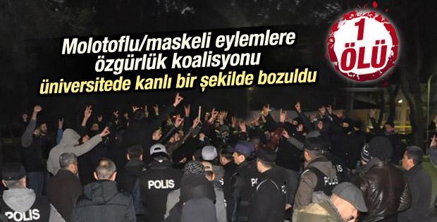 Ege Üniversitesi'nde öğrenciler arasında kavga: 1 ölü
