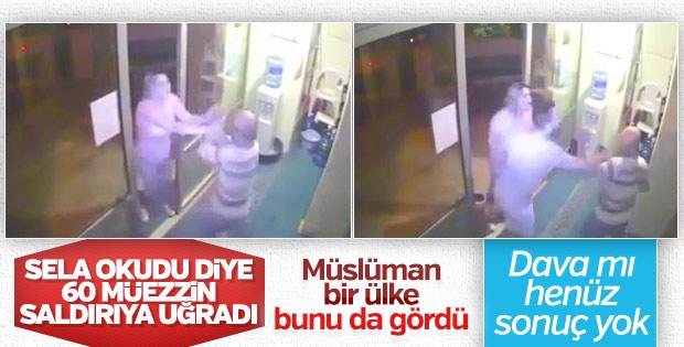 İzmir'de sela okuyan müezzine darp davası sonuçlanmadı