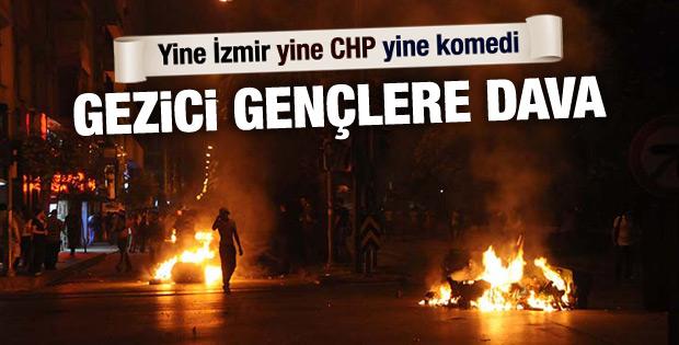 İzmir Belediyesi Gezi eylemcilerinden yine şikayetçi oldu