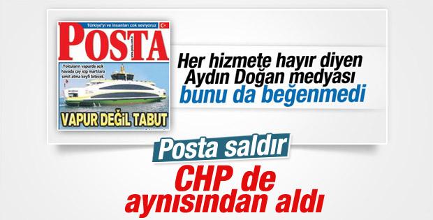 İzmir Büyükşehir Belediyesi 6. vapurunu aldı