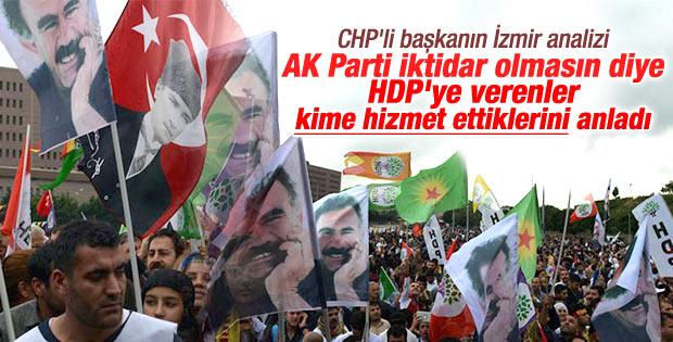 HDP'ye oy veren İzmirli CHP'liler pişman oldu