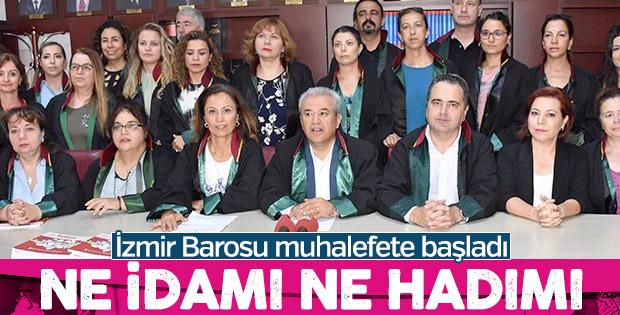 İzmir Barosu, idam ve hadıma karşı