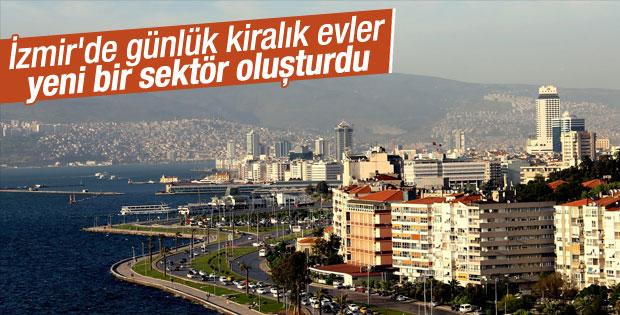 İzmir'de evler günlük kiralanıyor