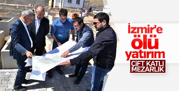 İzmir'de mezarlık sorununa 'çift katlı' çözüm