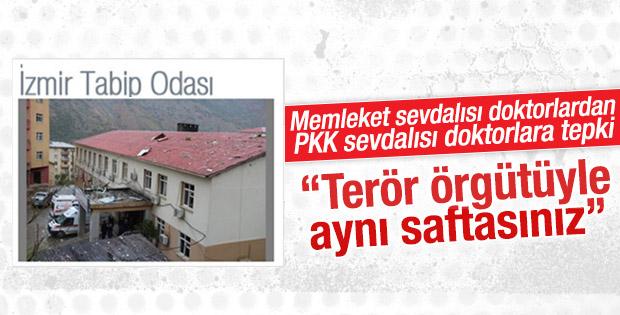 İzmir Tabip Odası'ndan Türk Tabipler Birliği'ne tepki