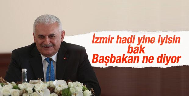 Başbakan Binali Yıldırım: İzmir benim gözbebeğim
