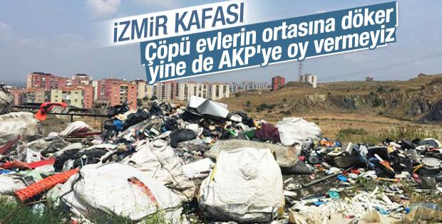 İzmir'de AK Parti düşmanlığı tavan yaptı