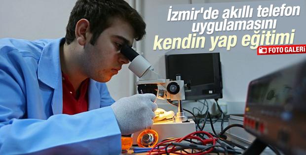 İzmir'de akıllı telefon uygulamasını kendin yap eğitimi