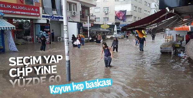 İzmir'de kaos