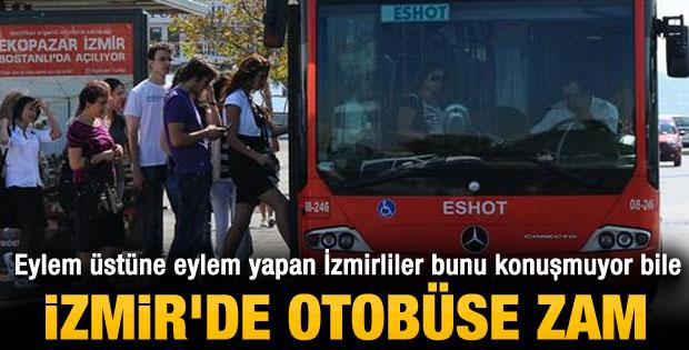 İzmir'de ulaşım araçlarına yüzde 13 zam yapıldı