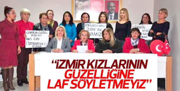 CHP Kadın Kolları: İzmirli kızların hepsi güzel