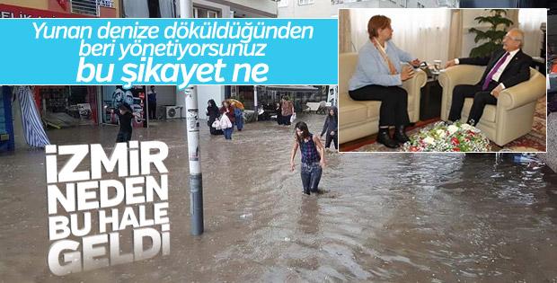 Konak Belediye Başkanı'ndan Kılıçdaroğlu'na sel raporu