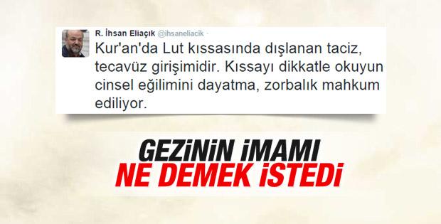 İhsan Eliaçık'a LGBT tepkisi