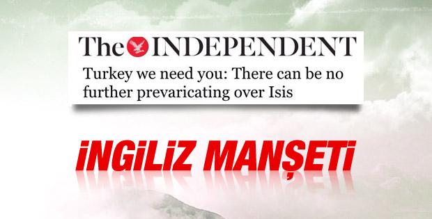 Independent: Türkiye, sana ihtiyacımız var