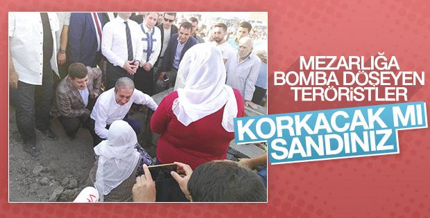 Mehdi Eker bomba yerleştirilen aile mezarlığında