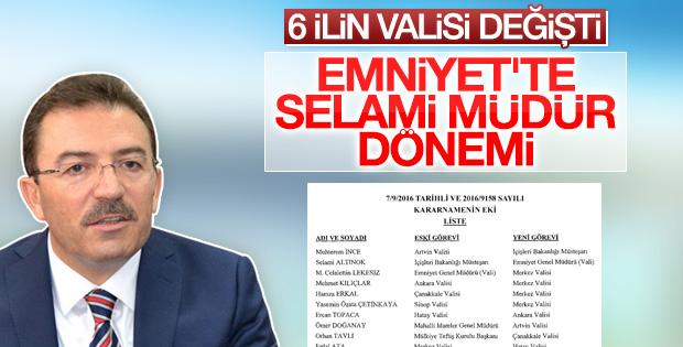 Selami Altınok Emniyet Genel Müdürlüğü'ne atandı