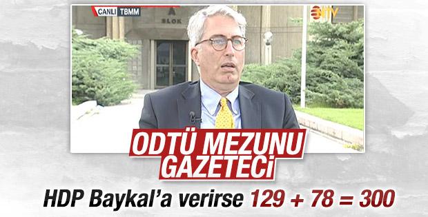 ODTÜ'lü Murat Yetkin'in Meclis Başkanlığı hesabı