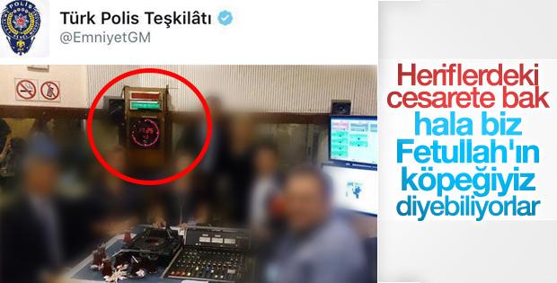 Emniyet'in hesabından paylaşılan tweet'e soruşturma