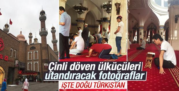 Anadolu Ajansı Uygur Özerk Bölgesi'ne gitti