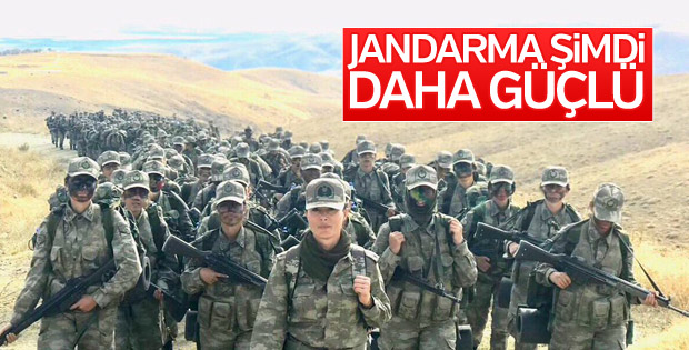 Jandarma'nın kadın astsubay adayları
