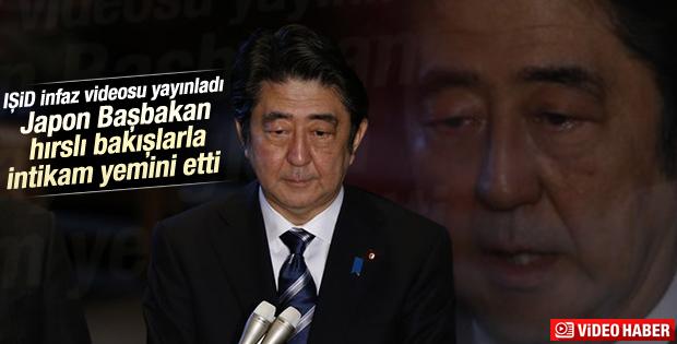 Japon Başbakan Şinzo Abe'den IŞİD'e sert tepki