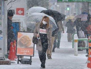 Japonya'da kar fırtınası: 3 ölü 500 yaralı